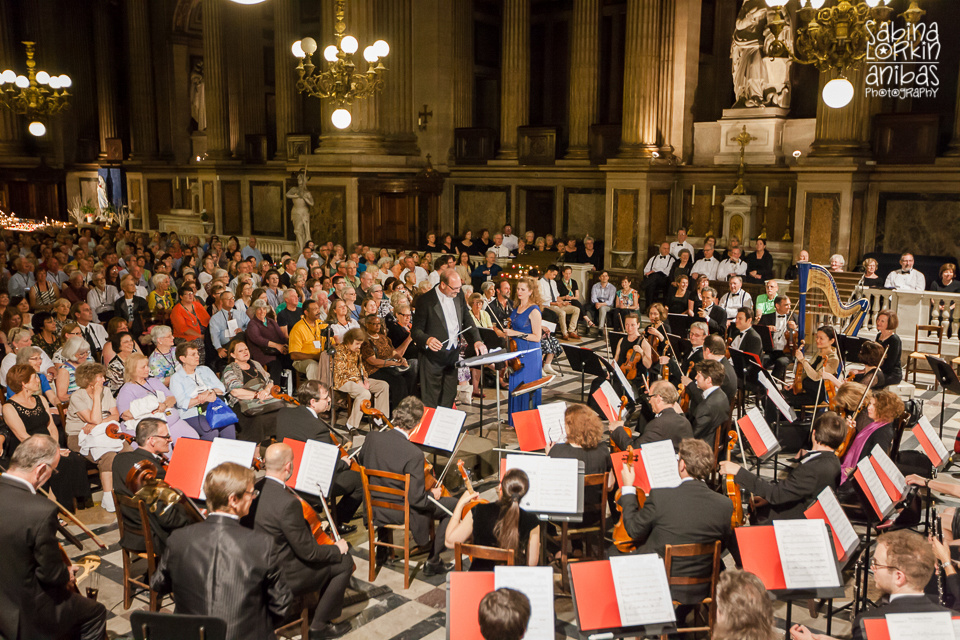 Photographie Evénémentielle - Concert à l'Eglise de la Madelaine Paris