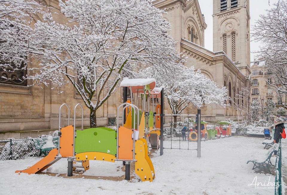 Découvrez Paris sous la neige  par photographe pro Sabina Lorkin - @anibasphotography