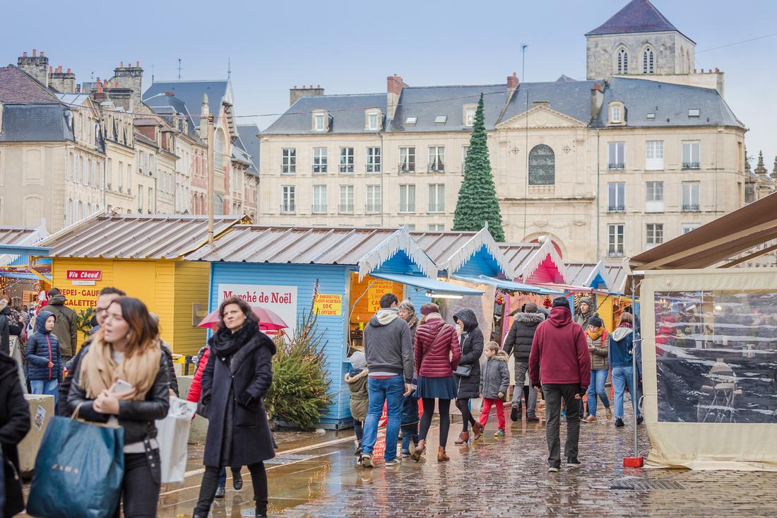 Le Marché de Noël et la Grande Roue - Caen - Normandie - 2018