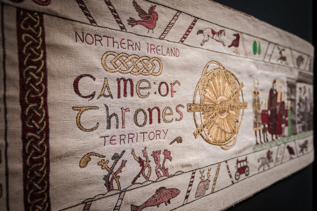 La tapisserie Game of Thrones à Bayeux - Calvados - Soirée avec Normandie Tourisme - #NormandieMedievale - Par photographe Sabina Lorkin @anibasphotography