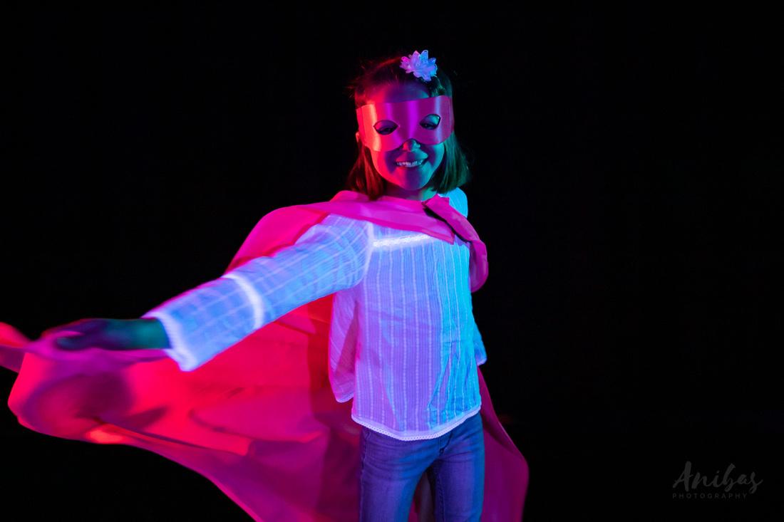 Photographe en Normandie, France Super-héros - Enfants atteints de maladies rare et leurs fratries - #RareDiseaseDay © Sabina Lorkin @anibasphotography