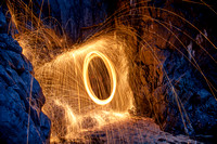 Photos des { Boules de Feu } Light Painting en Normandie