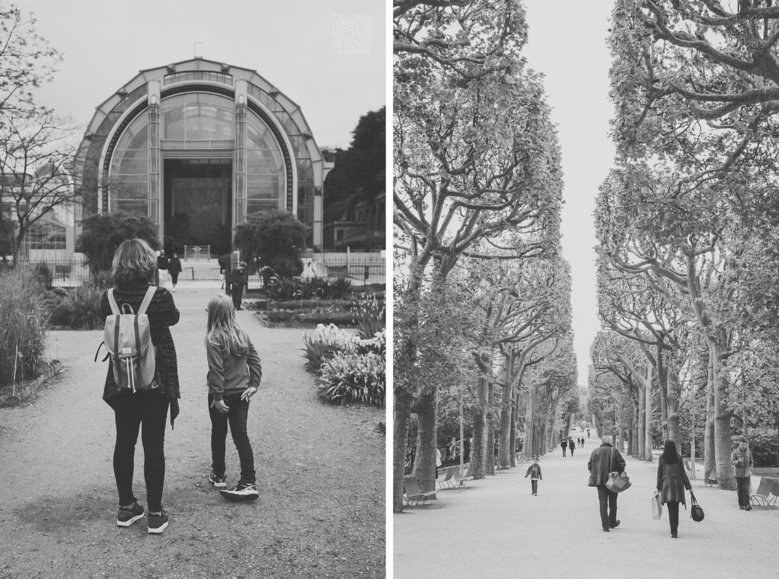 Découvrez un reportage photos d'une fille pendant son premier voyage à Paris de la Normandie