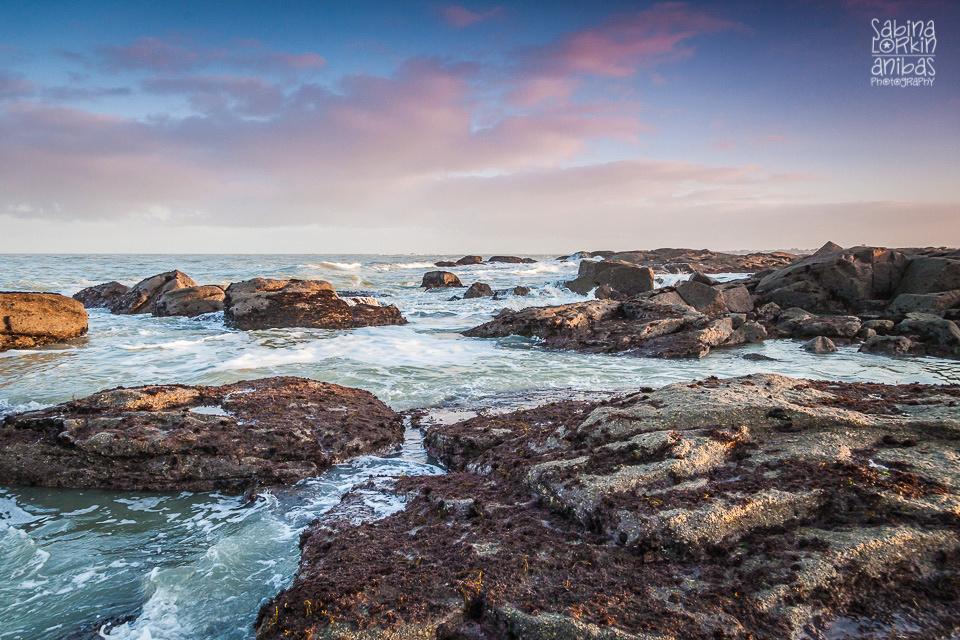 Découvrez les photos du vent et des vagues sur les rochers à Gatteville-le-Phare dans le Cotentin - Manche - Normandie