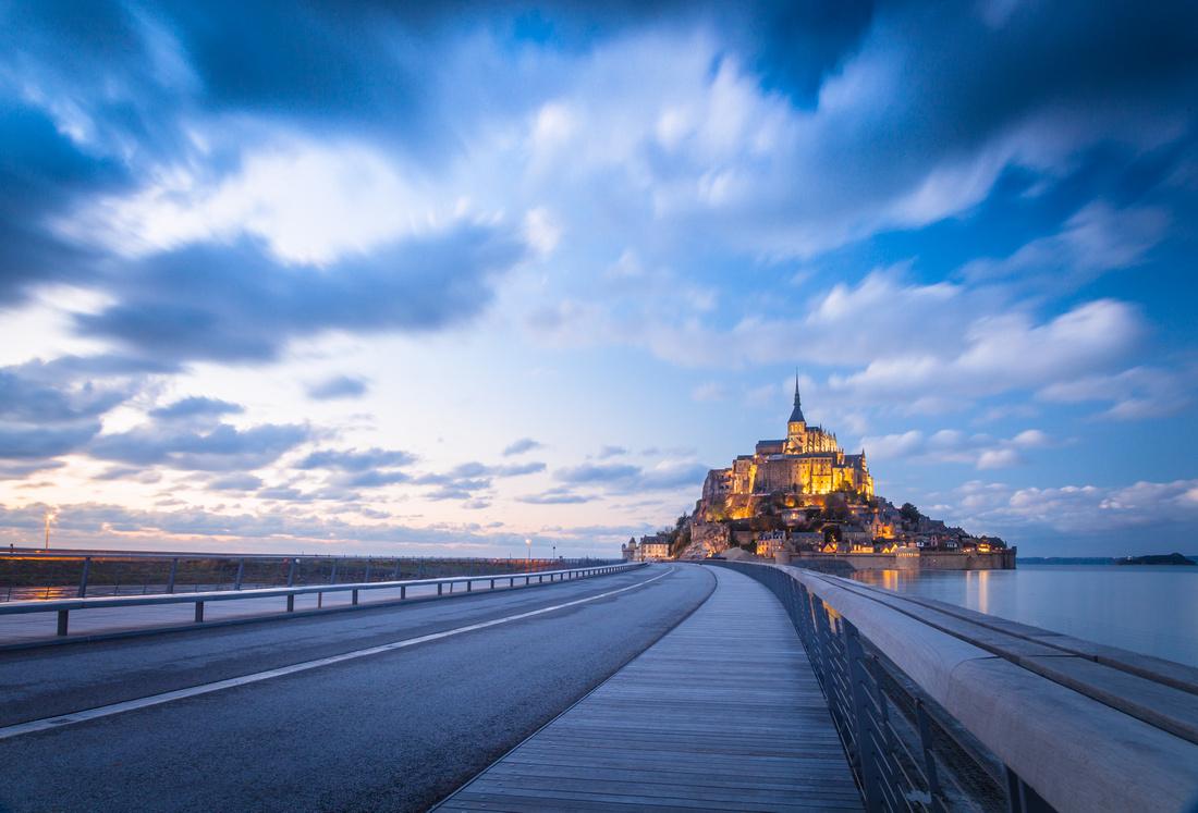 Le Mont St Michel - Bonne année 2015 d'artisan photographe en Normandie Sabina Lorkin - Anibas Photography - Manche Calvados Orne