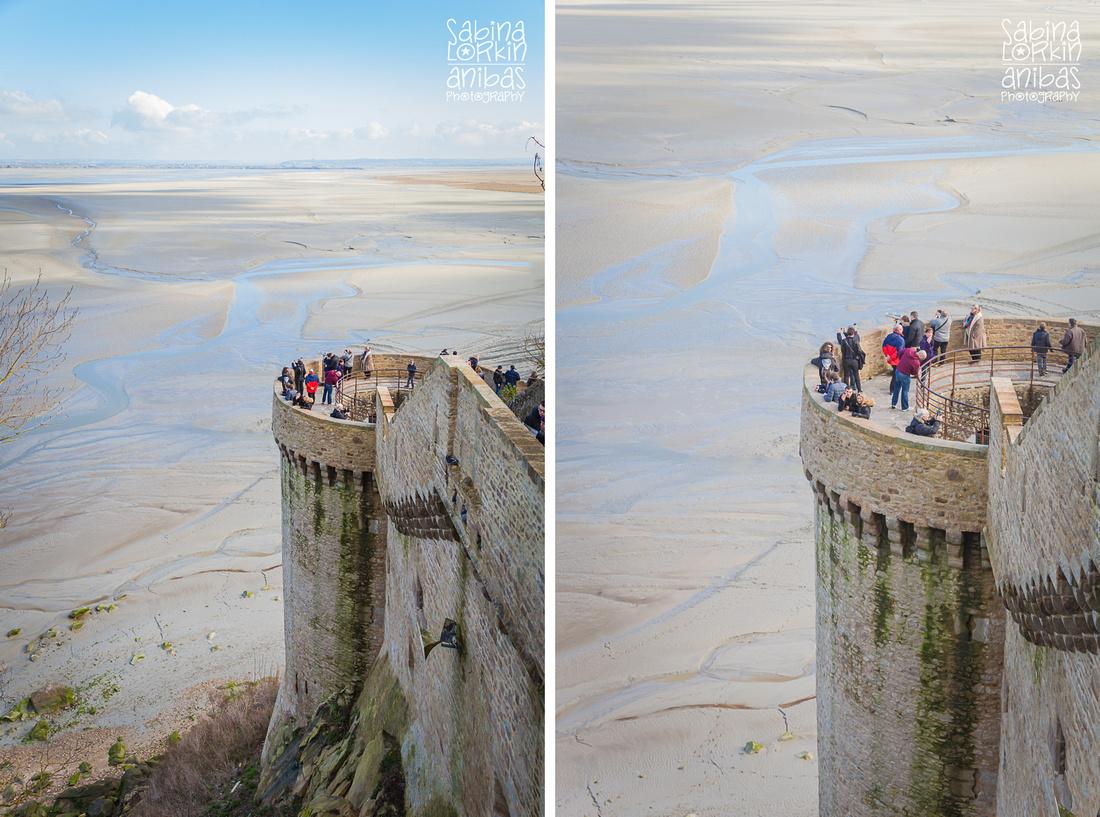 Découvrez mes photos au Mont St Michel en hiver - une petite visite en famille